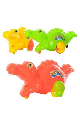 Тварина H868 крокодил, заводний, 3 кольори, кул., 18-7,5-8 см