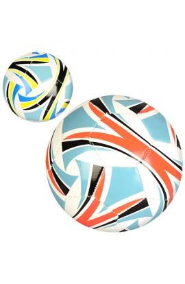 М'яч футбольний EN 3234 розмір 5, ПВХ 1,6 мм., 300-320 г., 2 кольори, кул.