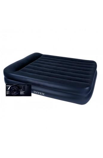 Велюр ліжко 64122 з вбудованим електро насосом 220В, кор.
