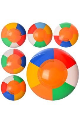 М'яч MSW 023 надувний, 18 см., мікс кольорів, кул., 6-7 см.