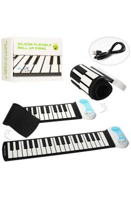 Синтезатор PN37 37 клавіш, запис, силікон, склад, регул. гучність, кор., 21-15,5-8 см.