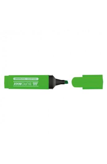 Текст-маркер флуор., JOBMAX, зелений