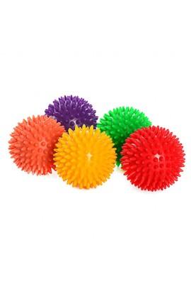 М'яч масажний MS 0943 7,5 см., 5 кольорів, 75 г.