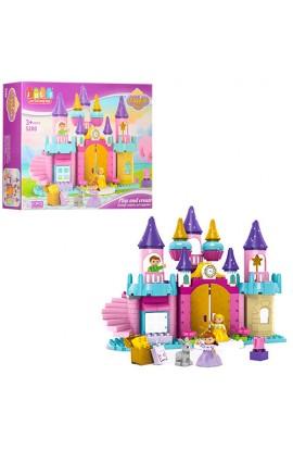 Конструктор JDLT 5280 замок принцеси, фігурки, 113 дет., кор., 60-45-12,5 см.