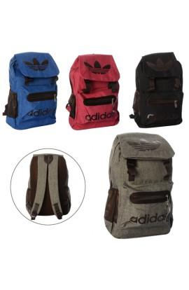 Рюкзак 8804 застібка-блискавка, внутр.і зовн. кармани, 4 кольори, кул., 45-34-5 см.