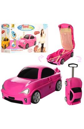Сумка MK 1211 валіза-машина, на колесах, внутрішні кармани, кор., 50-30-21 см.