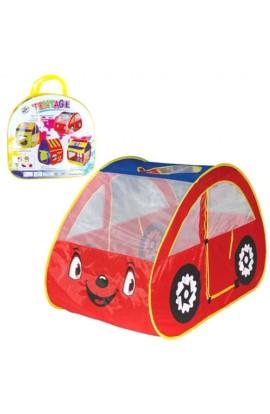 Палатка M 2502 машина, 2 входи на липучці, отвір на даху, сумка, 40-38-4 см