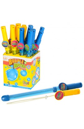 Мильні бульбашки 1833B меч, 2в1 (водяний насос), 2 кольори, диспл., 20-17,5-42 см.