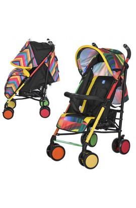 Візок дитячий M 3410-1 прогулянковий, тростина, капюшон, колеса 4 шт., ремені безпеки, 2 види, весел