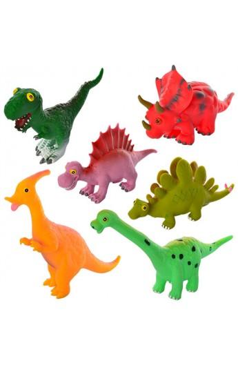 Динозавр JZD-27 пискавка, 6 видів, кул., 22-23-6 см.