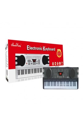 Синтезатор SK 680 61 клавіша, 100 ритмів,10 демо, мікрофон, живлення від мережі, кор., 88-32-12 см