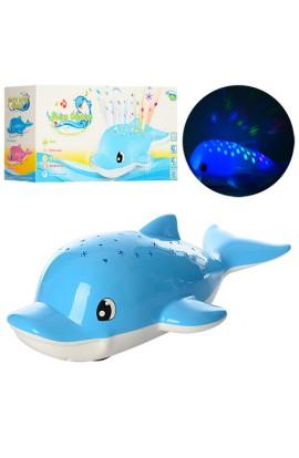 Гра 3378 дельфін, проектор зіркового неба, їздить, муз., світло, бат., кор.,34,5-11,5-17,5 см.
