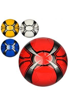 М'яч футбольний HT-0009 розмір 5, ПВХ, 1,6 мм, 1 шар, 32 панелі, 260-280 г., 4 кольори.