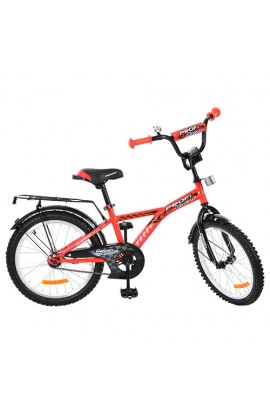 Велосипед дитячий PROF1 G2031 20'', дзвінок, підніжка, червоний.