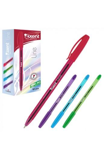 Ручка масляна 0,7 мм Line, синя