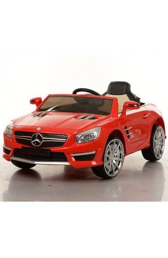 Машина M 3283 EBLR-3 2,4G, 2 мотора 35W, 12V/7A, колеса EVA, шкіряне сидіння, MP3, USB, аморт., черв