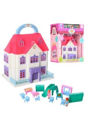 Будиночок 8050 меблі, фігурки, кор., 21-26-12,5 см.