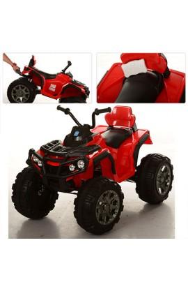 Квадроцикл M 3156EBR-3радіокер., 2 мотори 12V, акум. 12V / 7AH, колеса EVA, MP3, USBвх., FM, червони