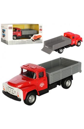 Вантажівка 6518C мет., інерц., 1:52, гумові колеса, кор., 15,5-7,5-6 см.