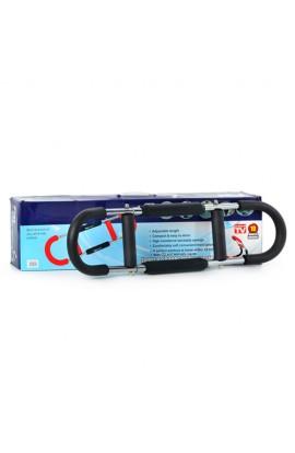 Тренажер MS 0082 мет., ПВХ ручки, для м'язів рук, кор., 66-18-7 см