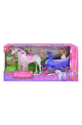 Карета 38386 лялька, коник, кор., 60-30-18,5 см