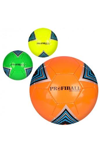 М'яч футбольний 3000-10ABC розмір 5, ПУ 1,5 мм., 4 шари, 32 панелі, 400-420 г., 3 кольори, кул.