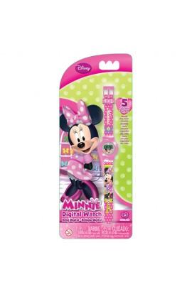 Годинник Minnie Mouse (5 функцій: місяць, дата, години, хвилини, секунди)