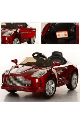 Машина M 2774 EBRS-3 2 мотора 25W, 2 акум. по 6V/7A, EVA, відчин. двері, червона