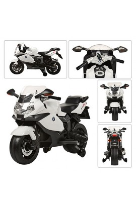 Мотоцикл Z 283-1-2 мотор, акум., до 30кг., біло чорний, кор., 104,5-32,5-63,5 см