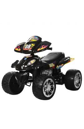 Квадроцикл M 2403ER-2 2 мотори 28W, 2 акум. 6V7AH, EVA колеса, перемикач швидкості, чорний.