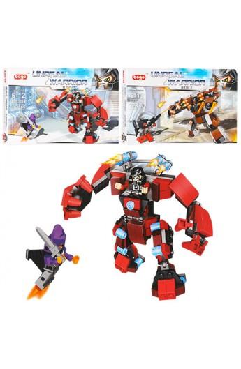 Конструктор BG2702AB робот, транспорт, фігурка, 2 види (162 дет., 166 дет.) кор., 29,5-19,5-5 см.