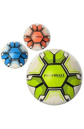 М'яч футбольний 3000-14ABC размер 5, ПУ 1,4 мм., 32 панелі, 400-420 г., 3 кольори.