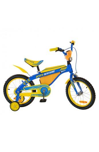 Купити Велосипед дитячий PROFI 16 16BX405UK блакитно-жовтий bf9f090c54061