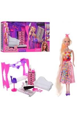 Меблі 68023 диван, комод, лялька, фарба для волосся, тварина, аксес., кор., 60-33-11 см.
