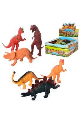 Динозавр 8612-A 12 шт., диспл., 28-26-13 см.