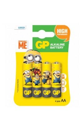 Батарейка GP ULTRA ALKALINE 1.5V 15AUYOY-2UE4 лужна, LR6, AA