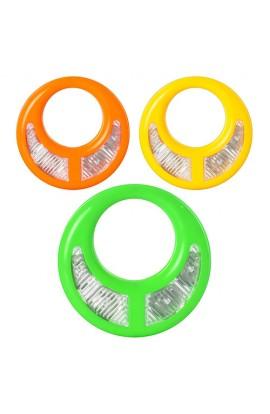 Бубон 3368 3 кольори, світло, кул., 15,5-15,5-2 см
