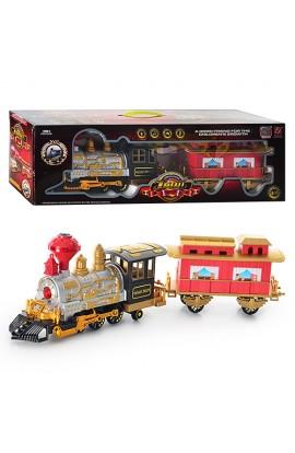 Залізниця 3043 дим, муз., світло, бат., кор., 61-19,5-15,5 см