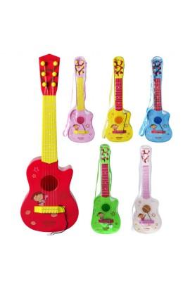 Гітара 180 A 2-8 струни, 4 види, чохол, 54-18-6 см