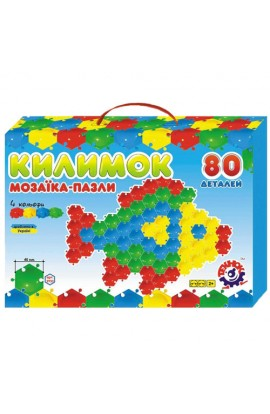 Іграшка мозаїка-пазли  Килимок ТехноК