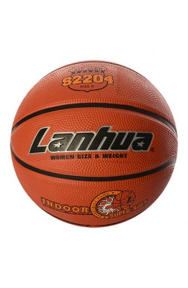 М'яч баскетбольний S 2204 розмір 6, малюнок-друк, 540-580 г., кул.