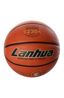 М'яч баскетбольний S 2304 розмір 7, малюнок-друк, 580-650 г., кул.