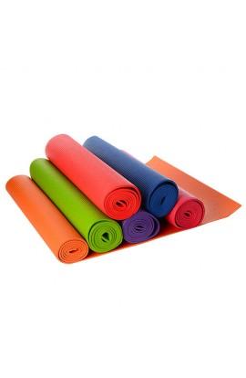 Йогомат MS 1184 ПВХ, товщина 6 мм., 6 кольорів, 61-12-12 см.
