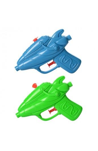Пістолет водяний дитячий M 2835 маленький, 2 кольори, кул., 13,5-11-2,5 см