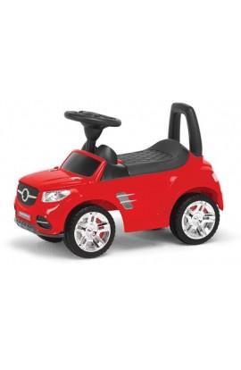 Машина-каталка MB без ел. (Червоний) - без коробки COLORPLAST 2-001
