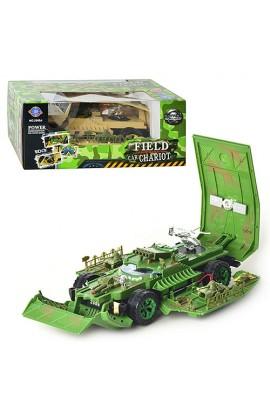 Танк 2988 A трансформер, їздить, 2 кольори, муз., світло, бат., кор., 27,5-19,5-11 см