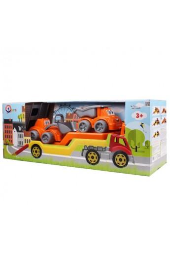 Іграшка  Автовоз з Будмайданчиком ТехноК