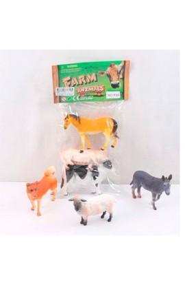 Тварини P86 домашні, 2 види, кул., 16,5-31-3,5 см.