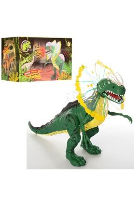 Динозавр D109 ходить, муз., світло, бат., кор., 28-16-14,5 см.