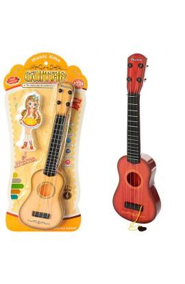 Гітара 890-B17 медіатор, 2 кольори, кор., 50-21,5-3,5 см.